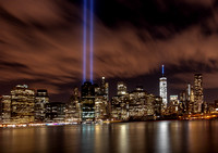 2015 WTC Memorial Lights Five